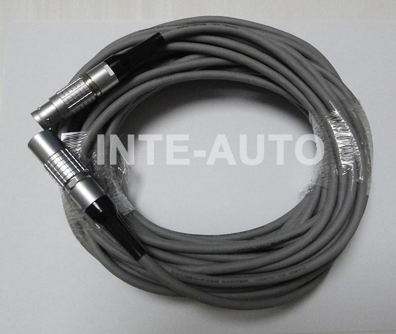 цена на LEMO plug and receptacle ,wire cable connector,cross FGG.2B.303 and PHG.2B.303,15M cable