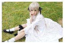 Anime yosuga no Sora Kasugano Sora Cosplay de Algodón/Gasa Vestido de Cosplay
