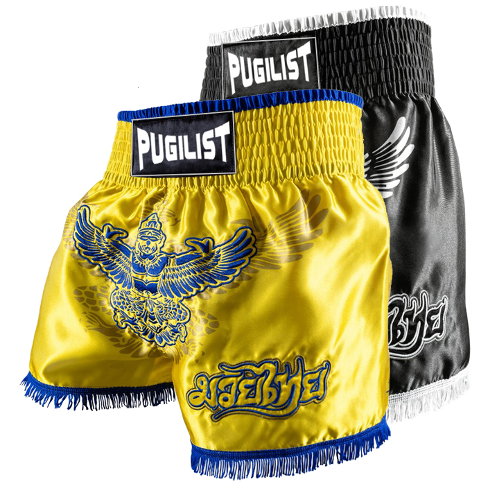 muay thai shorts MMA Boxer shorts PUGILIST wang hag shorts fitness powder training boxing suit slacks camouflage print v neck training suit tank top shorts for men