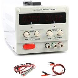 قابل للتعديل مختبر مختبر تحويل الرقمية DC امدادات الطاقة 0.01 فولت 0.001A 30 فولت 5A 30 فولت 10A 60 فولت 5A 120 فولت 1A 2A 110 فولت-220 فولت