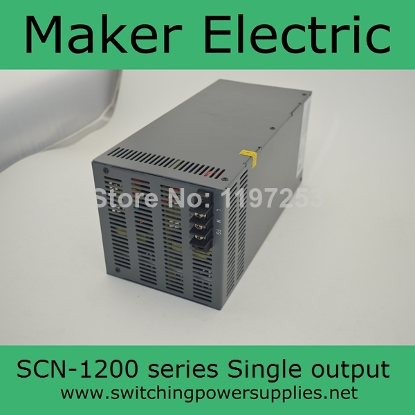 Vente chaude sortie 12 v 50A 1200 W alimentation LED SCN-1200-12 d'alimentation