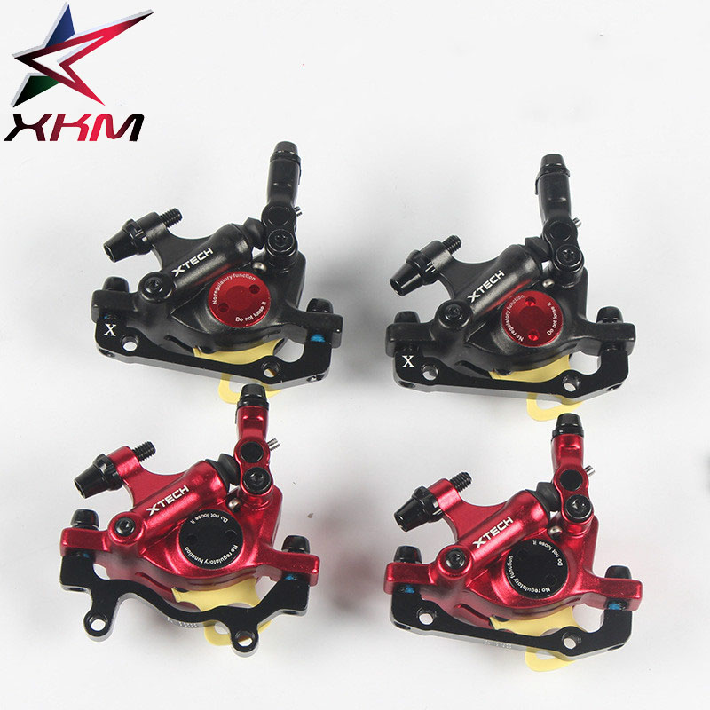 Aluminum Alloy Front / Rear Disc Brake Bicycle Brake Mountain Road Bike Brake Bicicleta Mechanical Caliper aluminum alloy disc brake 8 9 10 68mm 26 17 42 52mm headset bicycle frame