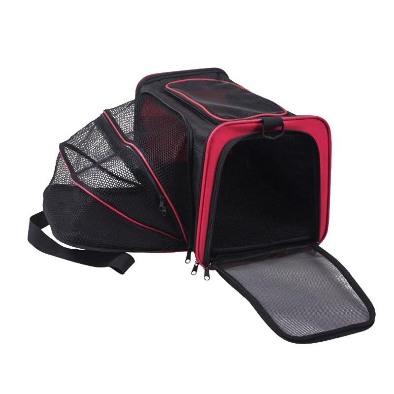 Pawstrip 3 Colors Expandable Dog Carrier Small Dog Shoulder Bag Oxford Breathable Cat Carrier Bag Outdoor Dog Travel Bag S/m/l