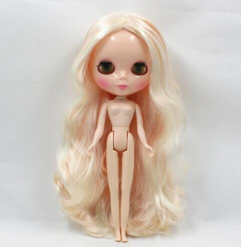 Nude Blyth doll Suitable For Dress up by yourself DIY Change BJD Toy For Girls Factory Blyth special price blyth nude doll for series no 230bl117bangs joint body black hair suitable for diy change bjd toy for girls