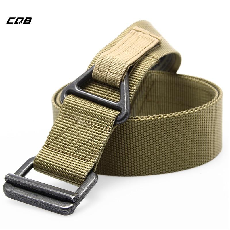 CQB Marca Cinturón Táctico Ajustable Hombres Ejército Cinturones - Ropa deportiva y accesorios