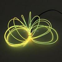 1.3 мм (от 10 до 20 Метров) el провод гибкий светодиодный неон свет веревочки с ac 220 В el контроллер для использования в помещении на открытом возду...