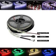 12V 24V LED Light Strip SMD 5050 RGB RGBW RGBWW Waterproof 60Led/s 5 M 12 24 V Volt LED Strip Lights Lamp Ribbon TV Backlight все цены