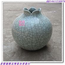 "Jingdezhen ceramic antique piece of porcelain lines pomegranate process accessories in vase ""grey"""