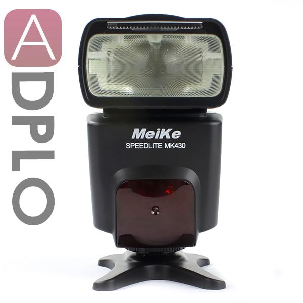 Meike MK-430 TTL Flash Speedlite Suit for Canon 430EX II 5D III 6D 60D 600D 650D meike mk 580 ttl camera flash speedlite for canon 580ex ii eos 5d mark ii iii 6d 7d 60d 600d 700d diffuser