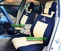 (Front + Rear) Universal Car-Covers for Mitsubishi Lancer Asx Outlander Pajero Galant Colt With 3D Silk Material+Free Shipping