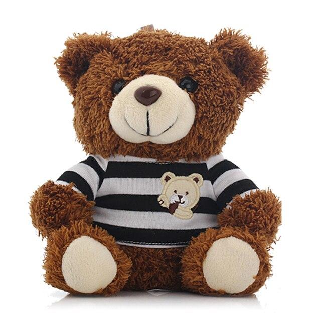Freeship didimi patente teddy bear 6000 mah power bank para iphone carga cabo com um pano fácil tomar com anel para iOS e andriod
