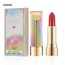 Купить с кэшбэком Maquillaje Women Lip Makeup Long Lasting Waterproof Matte Moisturizer Velvet Lipsticks Lipgloss Girls Gifts Maquiagem