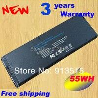 Black Battery For Apple MacBook 13 A1185 A1181 MA561 MA561FE A MA561G A MA254 MA255CH A