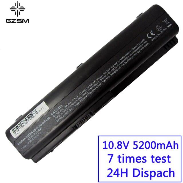 GZSM laptop Battery DV4 for HP  CQ50 CQ71  CQ70  CQ61 CQ60  CQ45  CQ41  CQ40 HSTNN CB0W HSTNN CB0X DV5 DV6 DV6T G50 G61  battery