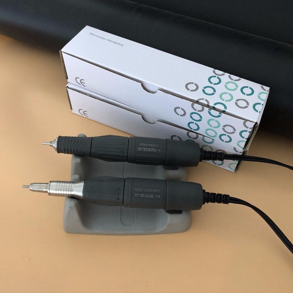 ทันตกรรมมาราธอน Lab ไฟฟ้า Micromotor มอเตอร์ Handpiece สำหรับขัด 35K RPM สำหรับ N3 N7 SRTONG 90/204-ใน อุปกรณ์ฟอกฟันขาว จาก ความงามและสุขภาพ บน   1