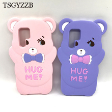 For Huawei P30 Pro Case Cases Lite Funda Cartoon Bow Bear Anti-Knock Silicone Soft Cover Coque