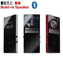 Originale BENJIE K8 Bluetooth MP3 lettore 8 gb di Sport Mp3 Musica Player  Recorder Radio FM carta di Tf di Sostegno Con Costruir. f6e736251cad
