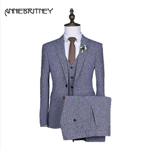2018 Latest Coat Pant Designs  Men Suit Marriage wedding Prom Tuxedo Style Groom Blazer 3 Piece man party suits Business Suit