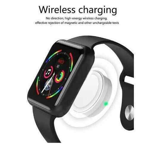 Reloj inteligente de pulsera para hombre y mujer MTK2502C reloj inteligente IWO series 4 Monitor de frecuencia cardíaca con Bluetooth para IOS Android