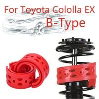Jinke 1 çift Boyutu-B Arka Şok SEBS Tampon Güç Yastık amortisör yayı Tampon Toyota Cololla EX