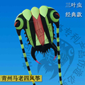 Trilobite praia suave cometas chinas cerf volant kites pipas única linha de vlieger grande inflável de nylon ripstop aquiloni