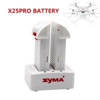 Original novo syma x25pro rc zangão bateria rc quadcopter peças de reposição acessórios 7.4 v 1000 mah para x25 pro bateria