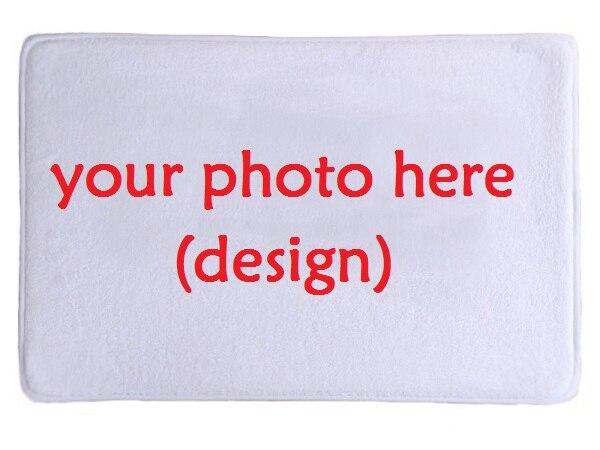 Bagno Zerbino Personalizzate Il Vostro Foto Stampata In Pelle Scamosciata Tappet