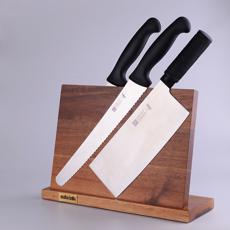 Magnetic Wooden Knife Holder…