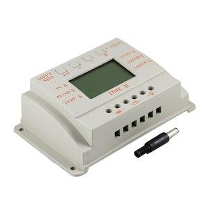 Image 3 - MPPT 20A LCD güneş enerjisi şarj cihazı 12 V 24 V Sıcaklık sensörlü ışık ve Zamanlayıcı Kontrolü Ev Aydınlatma Sistemi için Y SOLAR