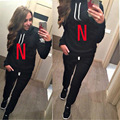 Women Tracksuits NIK Suits Letter Printed Hoodies Set Sweatshirt and Pants Two Pieces Women Spring Clothing Women Sporting Suit