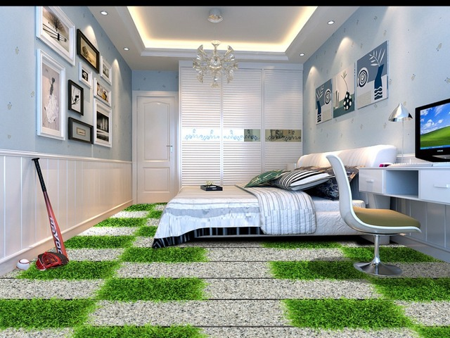 3d Tapete Fußboden ~ D boden malerei tapete d boden granit blaustein trail d