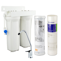 Design Your Own Dual Undersink Water Filter Systems For Purification