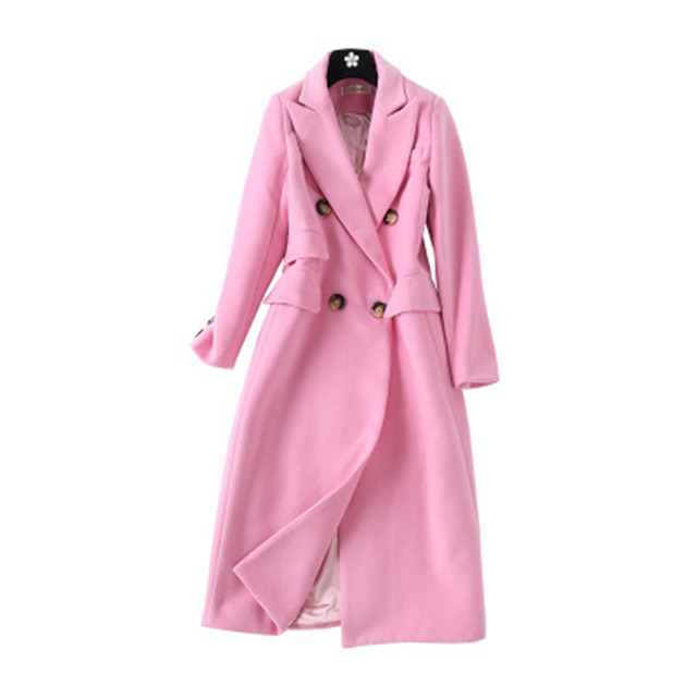 pink wool coat 5