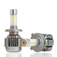 V8A 9004 Car Headlights 120w 10000lm Led Head Light Bulb Automobiles Headlamp 6000K White Fog Lamps