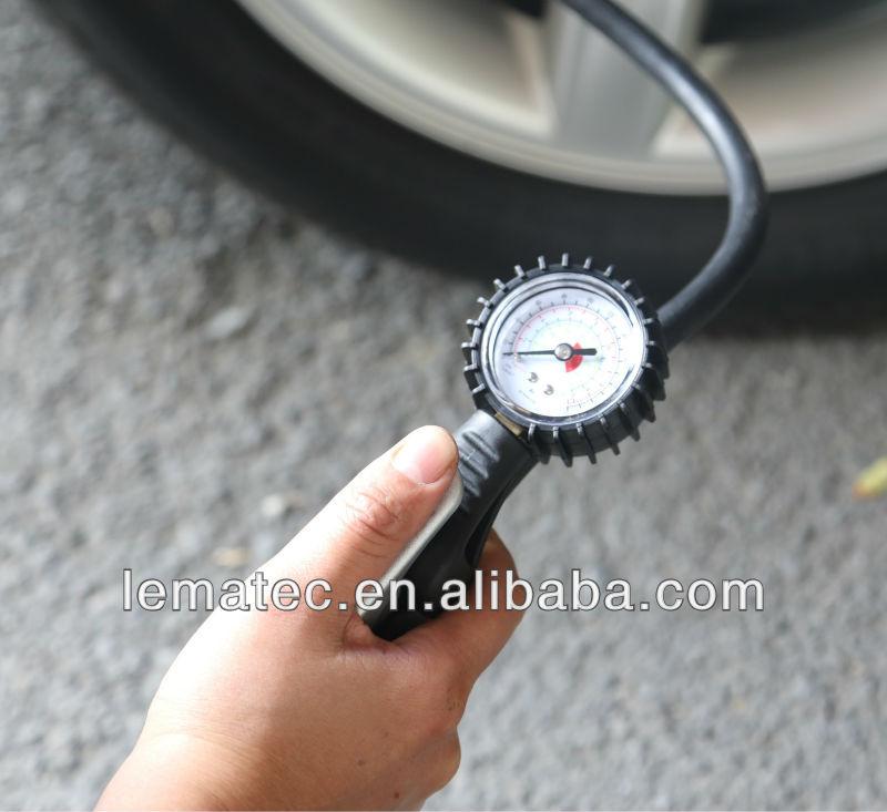 LEMAEC Nafukovací systém pneumatik s měřidlem Nástroje na opravu - Elektrické nářadí - Fotografie 3