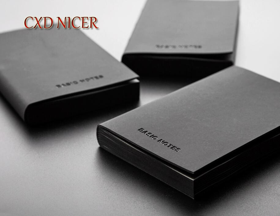 A5 Planner Daily Diary Blank Notebook Black Cover 2018 Office Supplies Business Stationery Organizer Notepad School Supplies high quality pu cover a5 notebook journal buckle loose leaf planner diary business buckle notebook business office school gift