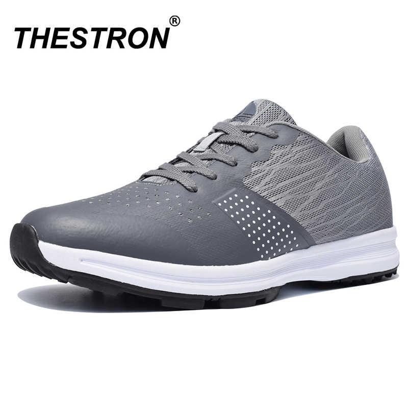 Thestron Men Golf Shoes Comfortable