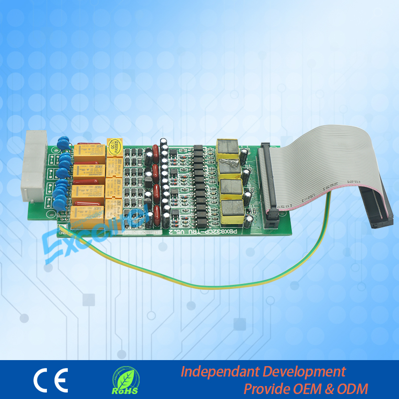 4 CO lines board to expand capacity for Telephone Exchange CP832 4 CO lines board to expand capacity for Telephone Exchange CP832