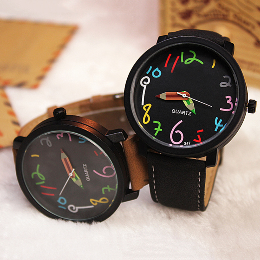 Watch Woman Fashion Quartz Watch Boys Children's Watch Girl's Beautiful Students All-Match Women Watches Montre Femme