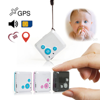Smallest GPS Real time Tracker Locator V16 Nanny Children GSM GPRS SOS Alarm Personal Tracking Device APP Web Two Way Talk SMS
