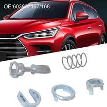Front Left Right Car Door Lock Repair Kit for Volkswagen Polo 9N 2 Door Beetle OE L-R 603837167 603837168 durable tough 0.8 front left front right side version 2 pins 7702127213 7701039565 door lock actuator for renault 19 clio i ii megane scenic