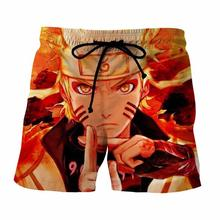3D Naruto Uzumaki beach shorts / bermuda / short pants