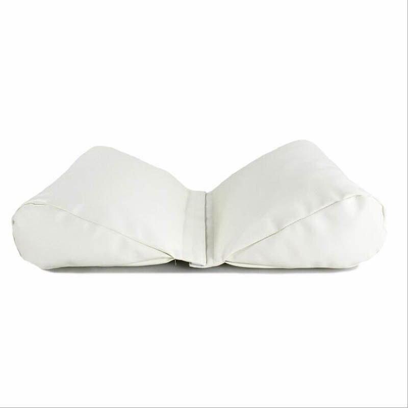 Новорожденный ребенок фото реквизит профессиональная позирующая подушка в форме полумесяца фотосъемка позиционер набор Белый хаки серый - Цвет: white