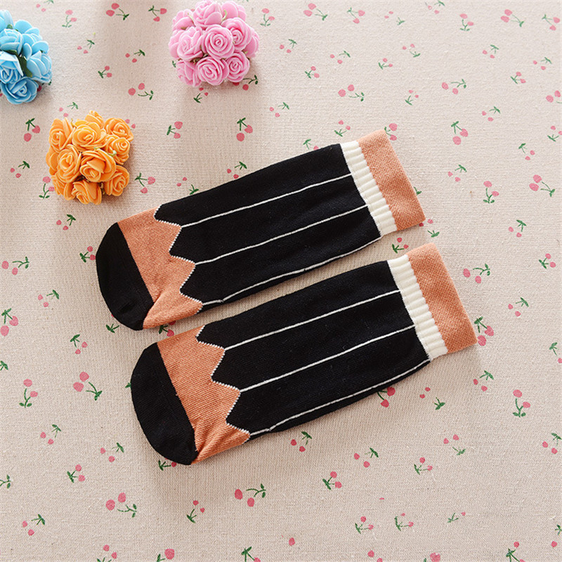 0-3 Years Baby Socks Children Anklets Short Sock Baby Boy Bobbysock Vertical Stripes Newborn Socks Girls Sox Half-Sock Cotton 6