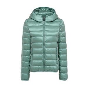 Image 3 - 5XL 6XL 7XL חורף נשים קל במיוחד ברווז למטה מעיל נשים ארוך שרוול מעילים חם סלעית מעיל Parka נקבה להאריך ימים יותר בתוספת גודל