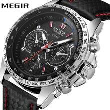 2e1f3fc0331f Reloj MEGIR superior de la marca de lujo de deportes reloj hombres reloj de  cuarzo 3D
