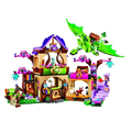 2016 Bela 10504 694 Pcs Amigo Elfos O Segredo Mercado Kit Modelo de Construção Blocos Brinquedos Para As Crianças Da Menina 41176