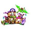 2016 Bela 10504 694 Unids Amigo Elfos El Secreto Mercado Modelo Kit de Construcción de Bloques de La Muchacha Juguetes Para Niños 41176