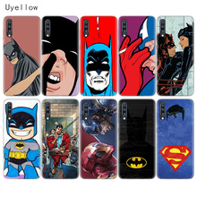 Uyellow DC Batman Superhero Phone Case For Samsung A10 A20 A30 A40 A50 A60 A70 A80 A20E Cover Galaxy M10 M20 M30 M40 Coque