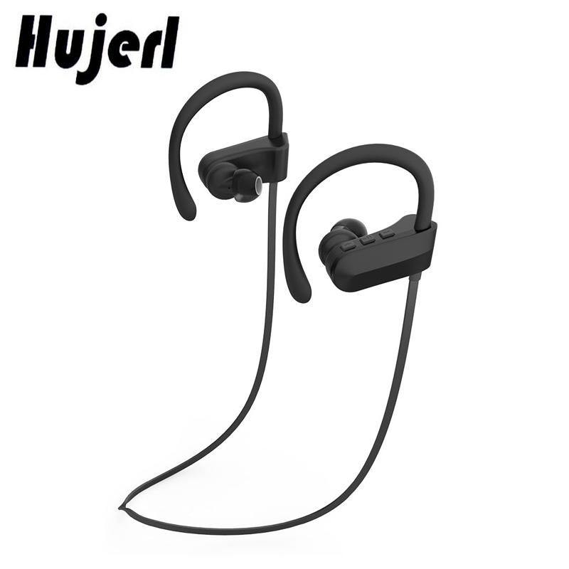Q12 Running Sports Earbuds Wireless Bluetooth Headphones with Mic V4.1+EDR Noise Cancelling Earphones for iPhone/Sony/Samsung/LG